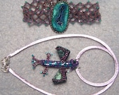 Baby Jewel Dragon Pendant and Bracelet Set 2/10