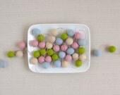 Pom-Pom Garland // Felt Balls // Spring Pastels // Custom