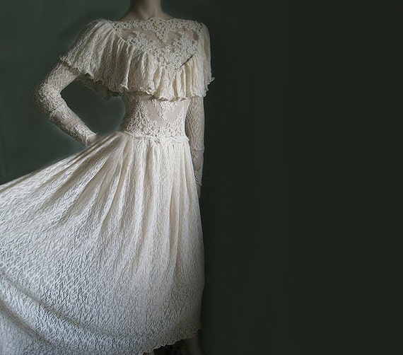 Vintage Victorian Wedding Dresses: Vintage Lace Wedding Dress VICTORIAN By ChicComplement On Etsy