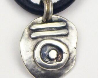 Forbidden Gypsy - Fine Silver Pendant - Witchcraft Pendant - Magik Pendant - Alchemy Pendant - Nomad Gypsy Fine Silver Pendant Gift