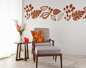 Fall Leaves, Leaves Wall Decal, Autumn Leaves, Nature Wall Decal, Nature  Wall Part 43