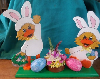 Two Ducks wating for Easter