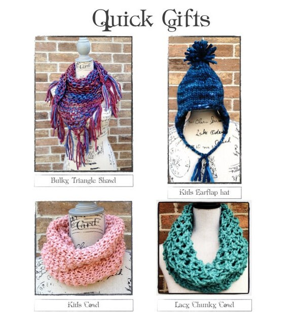Easy Knitting Projects For Gifts : Quick gifts to knit diy christmas scarf hat shawl beginner how