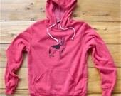i've got your back German Shepherd Hoodie, Red Sweatshirt, Soft Sweatshirt