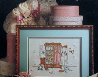 Paula Vaughan Vaughn A CAMEO From The PAST By Leisure Arts - Counted Cross Stitch Pattern Chart