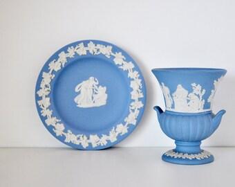 Lovely Blue Wedgwood Jasperware
