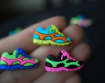 Runner Earrings -- Sneaker Earrings, Sneaker Studs, Athletic Shoes, Runner Studs, You choose the color!
