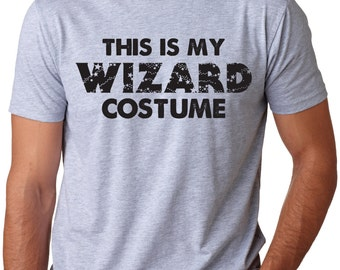 MENS Wizard Costume T-shirt funny,magic shirt,back to school in style,perfect gift for a geek,nerd boyfriend, halloween S-5XL
