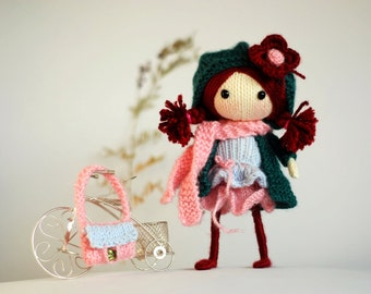 Winter Berry. The Doll - pdf knitting pattern