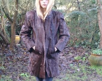 Vintage fur coat 70's