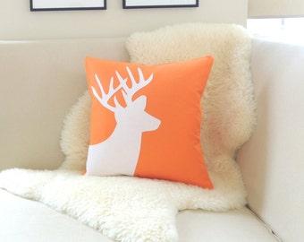 Deer Pillow Cover - Custom Colors