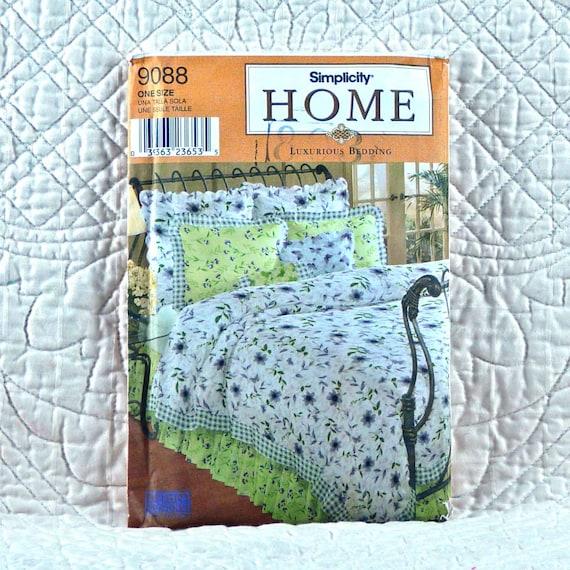 Luxurious Bedding Pattern Simplicity 9088 Home Decor Duvet