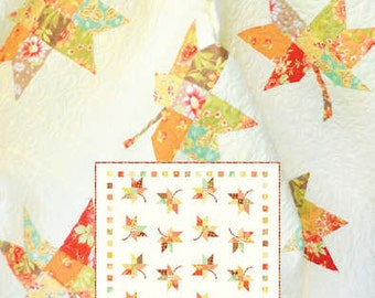 Twirl quilt pattern by Fig Tree Quilts
