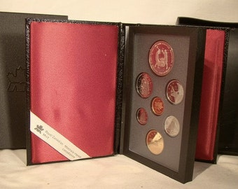 1988 Canada Double Dollar 7 Coin Proof Set - Royal Canadian Mint