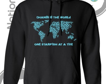 World map hoodie etsy change the world starfish hoodie world map missions adoption free shipping gumiabroncs Choice Image