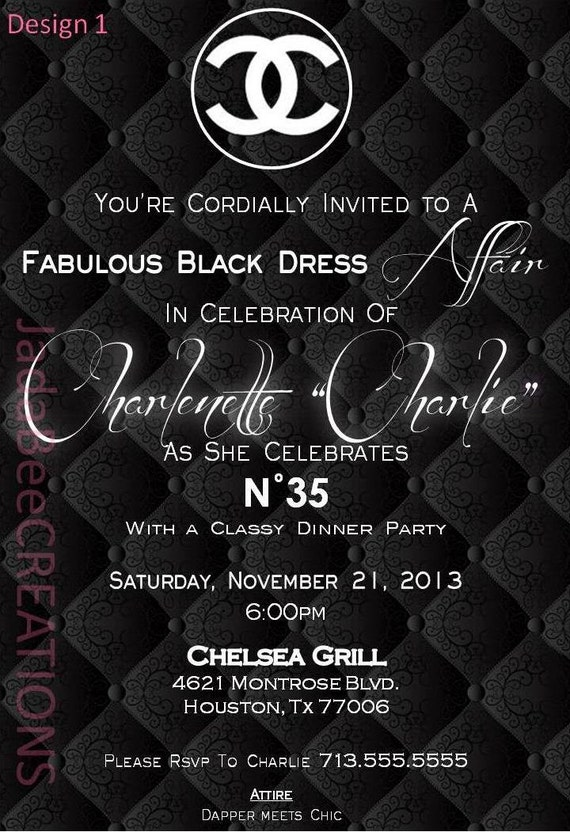 Classy Invitation Templates is awesome invitations sample
