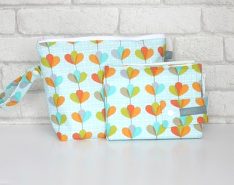 Travel Nappy Pouch and Change Mat