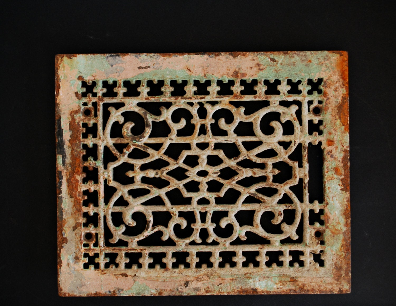 #B1490A Vintage Heating Vent Cover. Architectural Salvage Iron Best 3573 Heating Duct Covers photos with 1500x1160 px on helpvideos.info - Air Conditioners, Air Coolers and more