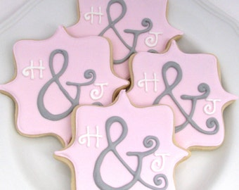 Personalized Bridal Shower Cookies-Also great for a Wedding Reception!