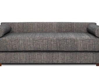 Modern DAYBED With Back Contemporary Sleeper Sofa Sleeper Couch Lounge.  High Quality CUSTOM Made In