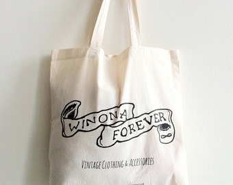 Winona Forever Iconic Tote Bag!  MADE TO ORDER!
