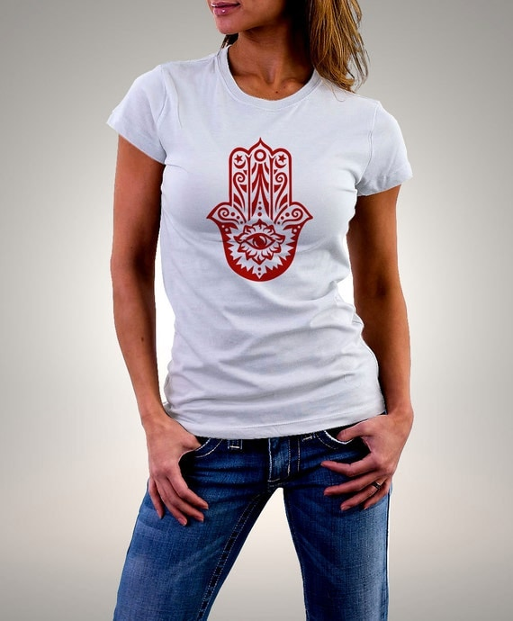 Fatma hand fatma hand t shirt fatma hand shirt by for Full hand t shirts for womens