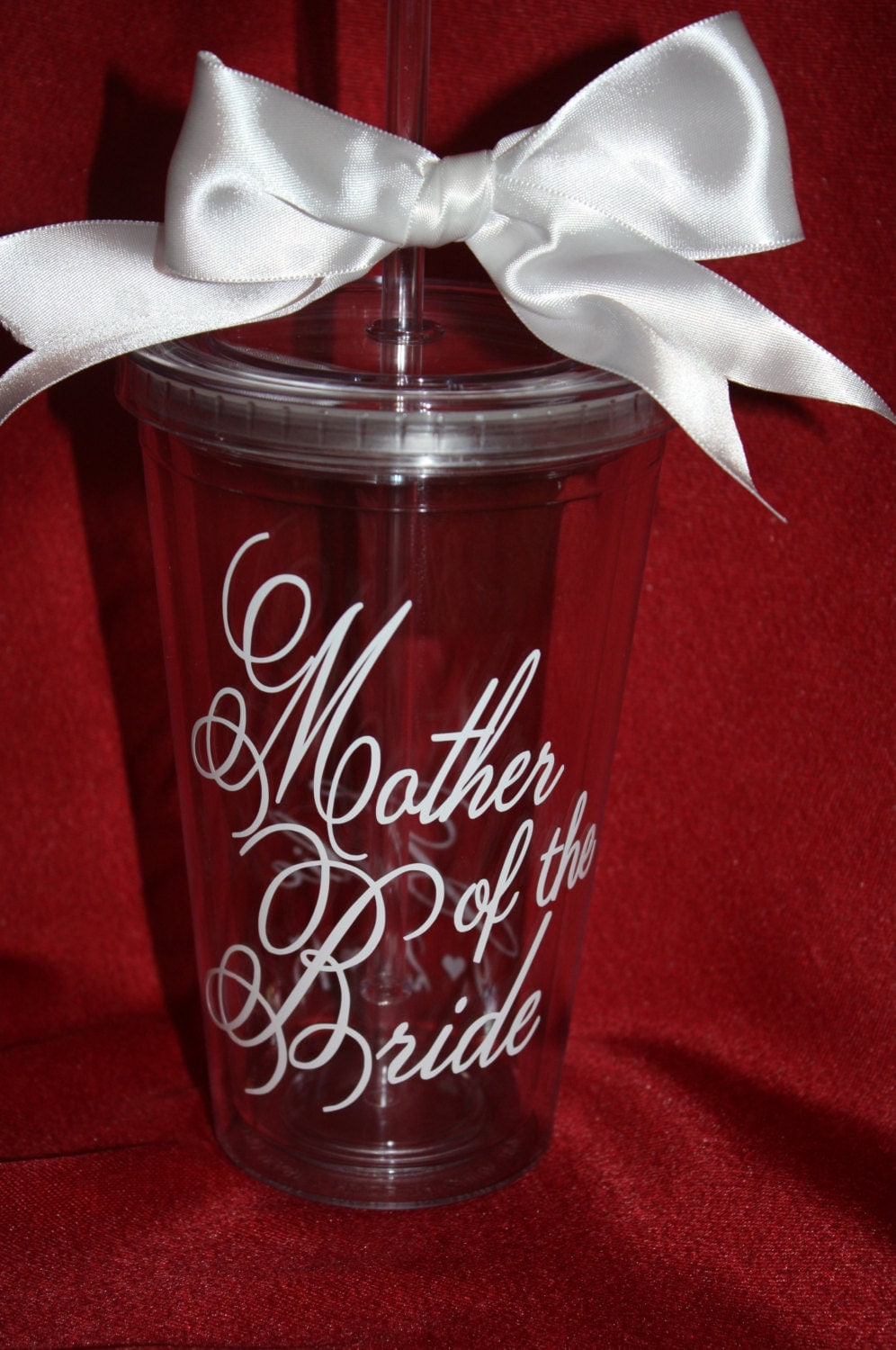 Mother Of The Bride Tumbler Personalized Tumbler For Mother
