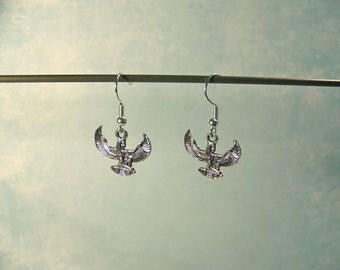 Isis Earrings~ Goddess Jewelry; Egyptian Goddess of Magic & Life; Egyptian earrings; Goddess of Creation, Fertitlity, Motherhood