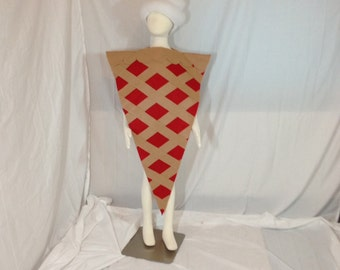 Cherry Pie costume with Whipped Cream hat