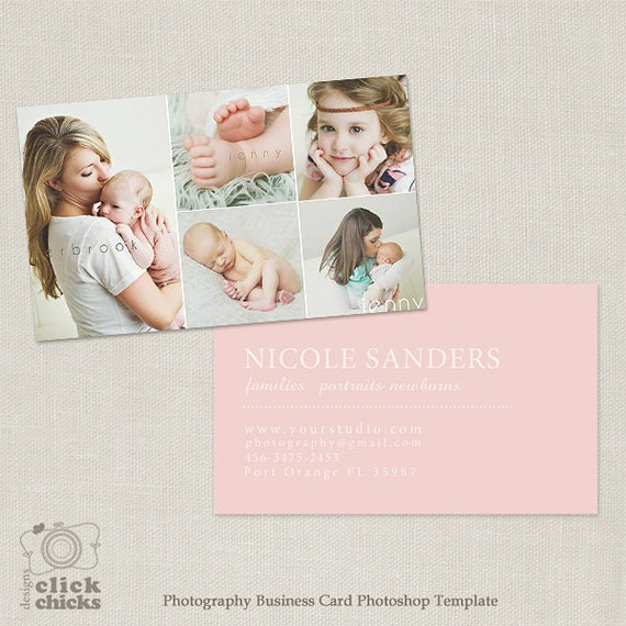 Photography Business Card Template for Photographers 002