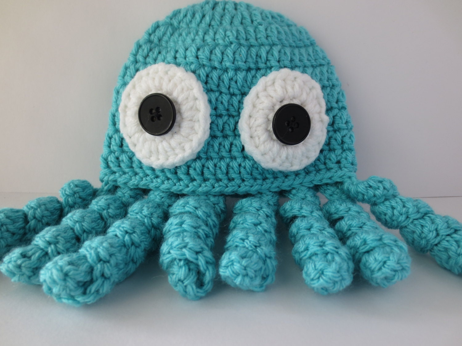 Crochet Octopus Hat Octopus Beanie Crochet by LovelyLizardDesigns
