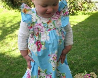 The Polly Ruffle Dress PDF Sewing Pattern