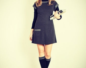 Shift Knit Cute dress Day Casual dress