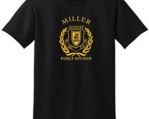Popular items for family reunion shirt on etsy for Family reunion t shirt printing
