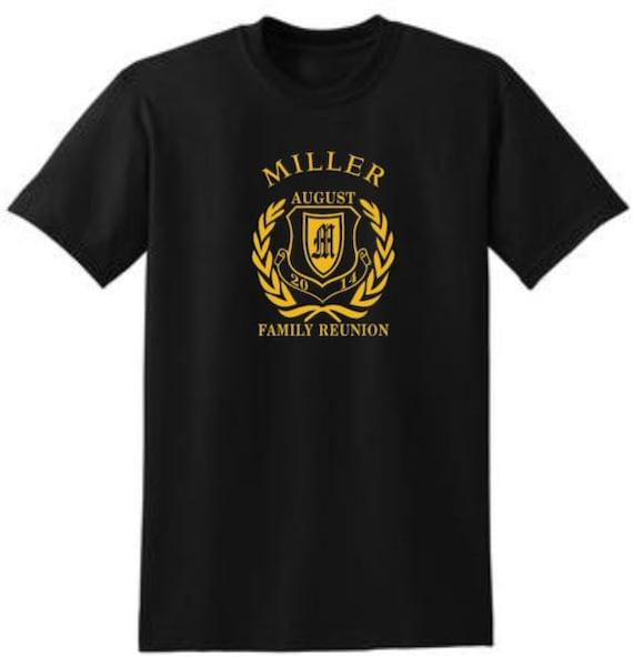 Family Reunion Shirt Set Design