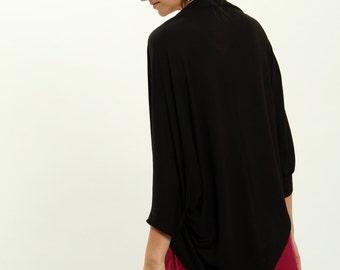 Black shrugs, black minimalist , shrugs boleros, black cardigan, long sleeve shrug