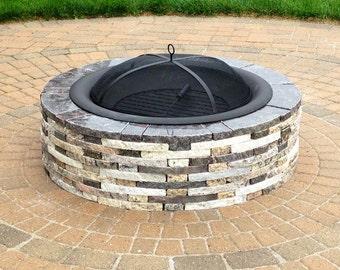 Custom Granite Fire Pit
