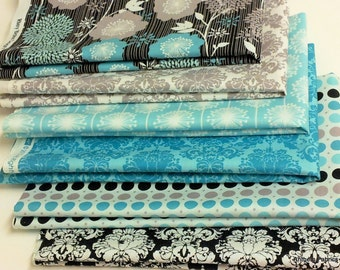Riley Blake Andrea Victoria fat quarter bundle - 6 pieces