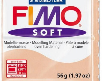 Polymer Clay FIMO Soft Flesh number 43, 56 grams