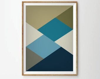 Abstract art, geometric art, art prints, abstract poster, poster art, geometric prints, 60s art, retro posters, 1960s style, retro style art