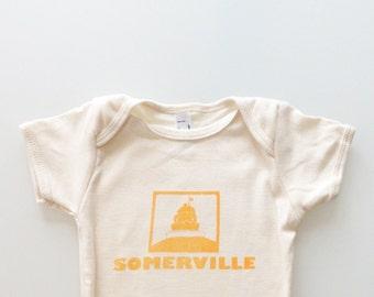 Somerville Baby Infant Romper - orange or green