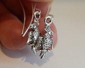 parrot earrings for parrot lovers