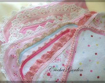 Baby Edgings Crochet Pattern - 7 Fun And Beautiful Edgings