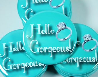 10 Custom Design Wedding Party, Bridesmaid, Bachelorette, Pinback Buttons, Bottle Openers, Mirrors, Magnets