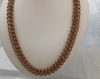 GSG Brass Chainmail Necklace