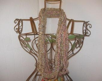Sierra Chain Crocheted Scarf CLEARANCE