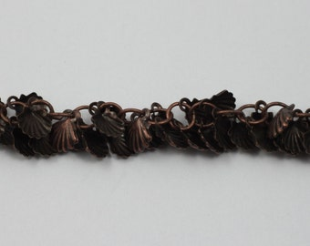 Antique Copper, 7mm Shell Chain #CC176