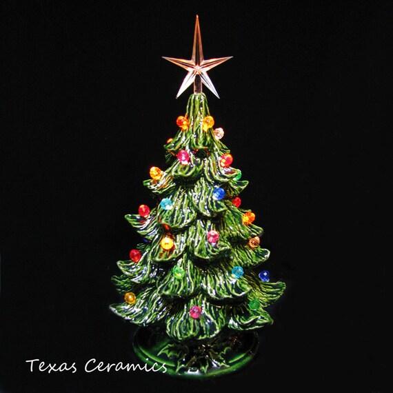 Tabletop Ceramic Christmas Tree