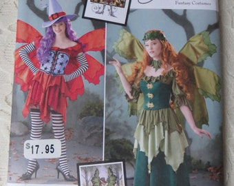 Simplicity 1550 Fairy Fantasy Costume Sewing Pattern for Size H5 Misses 6-14