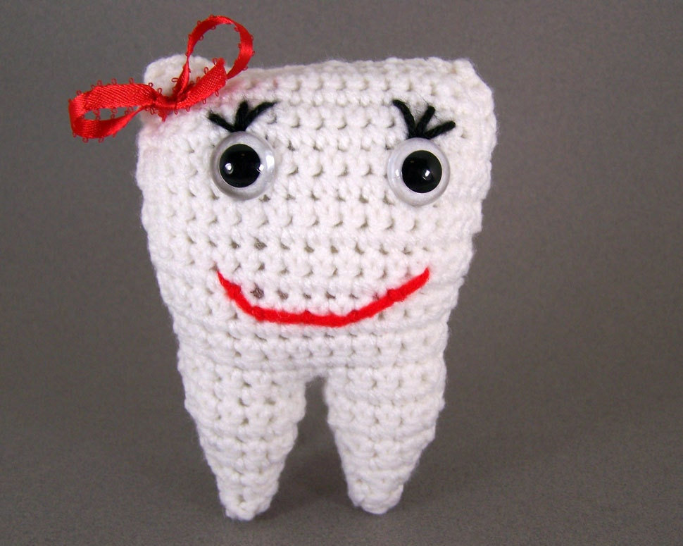 Crocheted Tooth Fairy Pillow amigurumi plush stuffed by ...